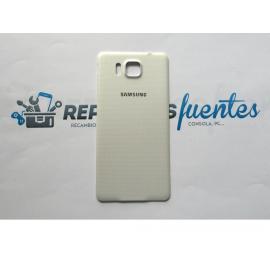 Tapa trasera Carcasa Samsung Galaxy Alpha SM-G850F - Blanca