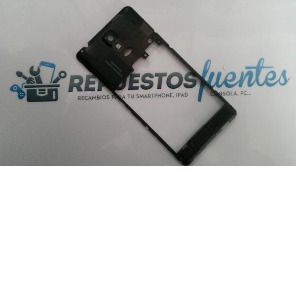 Carcasa Intermedia con lente Meo Smart A65 Negra - Recuperada