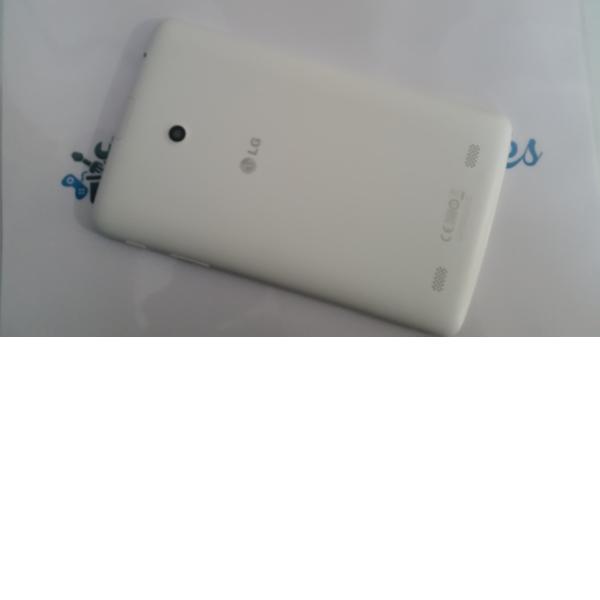Carcasa Trasera de la Bateria para Tablet LG V400 Blanca - Recuperada