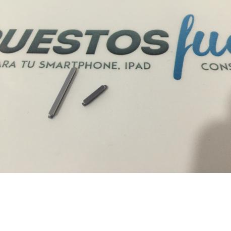 Juego de botones Encendido y Volumen Gris para Huawei Ascend G7 - Recuperado