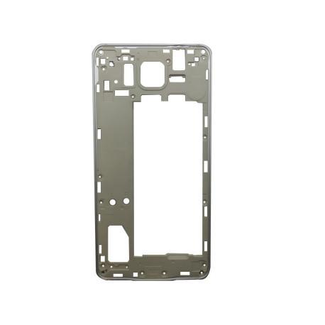 Carcasa Intermedia - Frontal Samsung Galaxy Alpha SM-G850F - Blanca