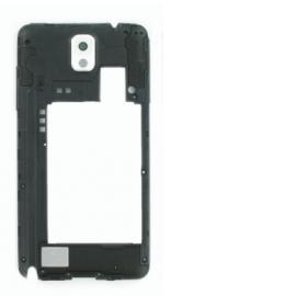 Carcasa Intermedia con Lente de Camara para Samsung Galaxy Note 3 N9005 - Blanca