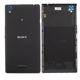 Tapa Trasera de Bateria Original para Sony Xperia T3 D5102 D5103 D5106 M50W - Negra