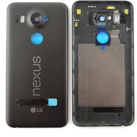 Carcasa Tapa Trasera de Bateria Original para LG Nexus 5X H791 - Negra