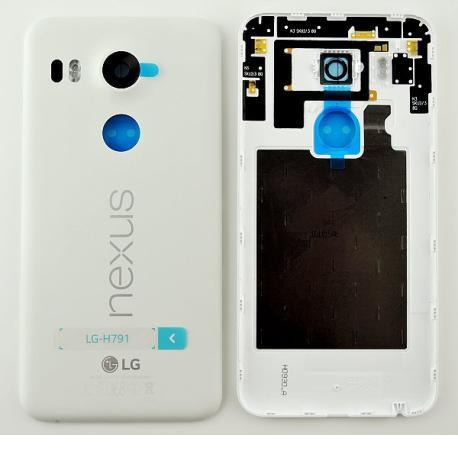 Carcasa Tapa Trasera de Bateria Original para LG Nexus 5X H791 - Blanca