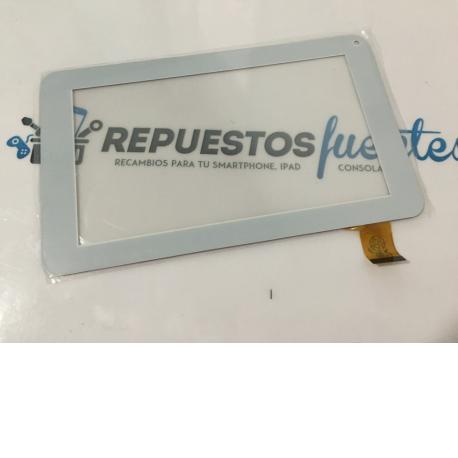 "Pantalla Tactil Universal Tablet china 7"" Unusual u7x , Sunstech TAB700 , Prixton T7006 , Etc - Blanco"