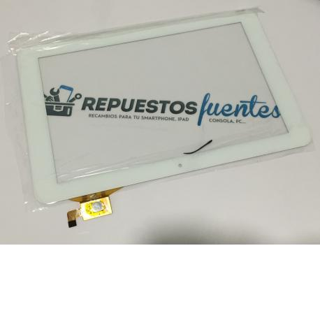 Pantalla Tactil Universal Tablet de 10.1 Pulgadas PB101DR8356-R1 - Blanca
