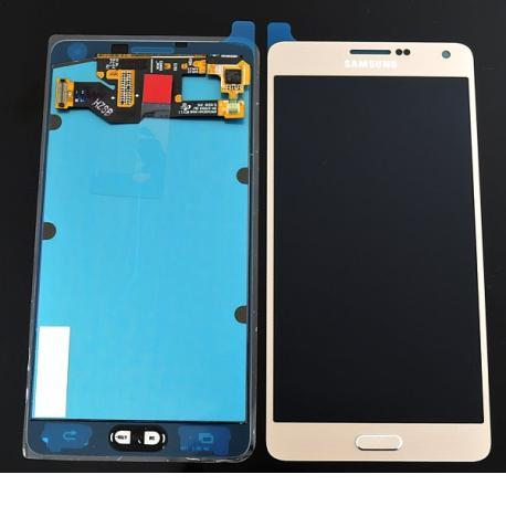 Pantalla Lcd + Tactil Original Samsung Galaxy A7 A700F - Oro dorado