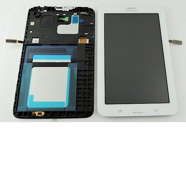 Repuesto Pantalla Lcd Display + Tactil Original Samsung Galaxy Tab 3V SM-T116 - Blanco