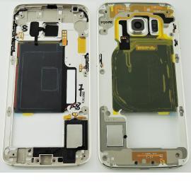 Carcasa Central para Samsung Galaxy S6 Edge SM-G925 - Oro