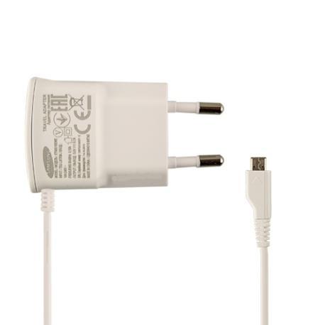 Cargador Red Micro USB Original ETA0U10EWE Samsung - Blanco
