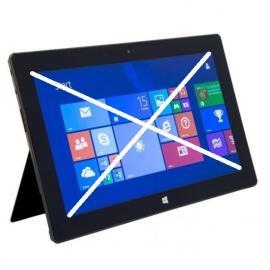 Repuesto de Tablet Completa para Reparar - Microsoft 1516 Surface RT Tablet 64GB - Negra