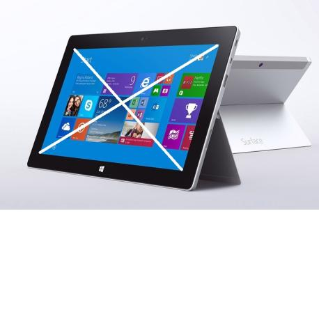 Repuesto de Tablet Completa para Reparar - Microsoft Surface 2 1572 Tablet 32GB - Plata