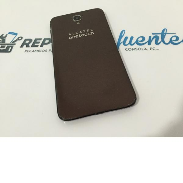 Tapa Trasera Original Alcatel Idol 2 OT-6037 Marron - Recuperada