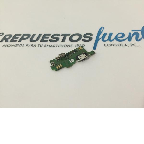 Modulo Conector de Carga Original Alcatel One Touch Idol X+ plus OT-6043 Azul - Recuperado
