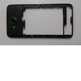 Carcasa Intermedia con lente para Huawei G750 Negra - Recuperada