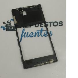 Carcasa Intermedia con Lente Original para Sony Xperia T2 Ultra