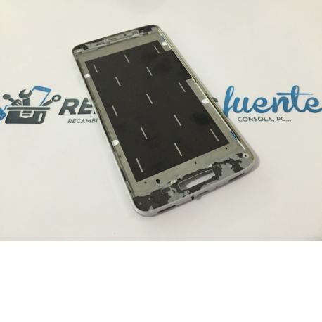 Marco Frontal LG G Pro Lite D682 D686 D685 Blanco - Recuperado