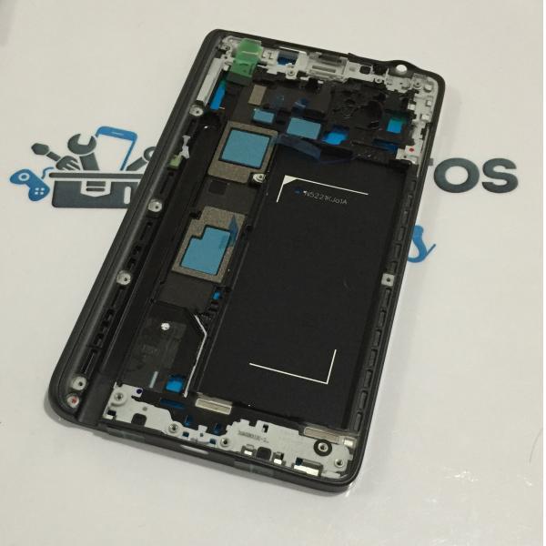 Carcasa Frontal para Samsung Galaxy Note 4 Edge N915F N915 - Negra