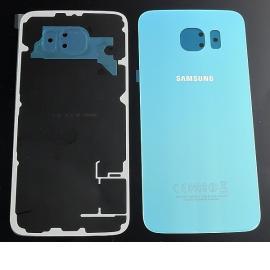 Carcasa Tapa Trasera de Bateria ORIGINAL para Samsung Galaxy S6 i9600 SM-G920 - Azul