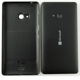 Carcasa Tapa Trasera de Bateria Original para Nokia Microsoft Lumia 540 - Negra