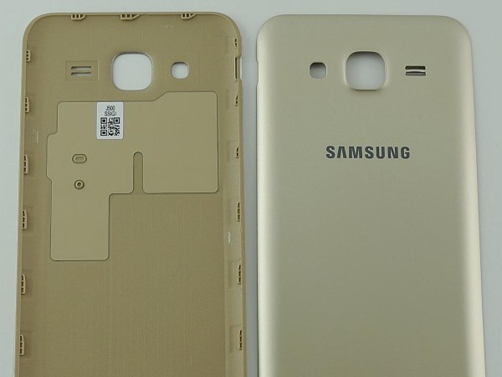 5716ca8cf6a Carcasa Tapa Trasera de Bateria para Samsung Galaxy J5 SM-J500F - Oro