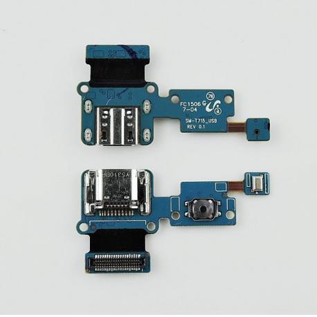 Flex Conector de Carga Con Microfono Original para Galaxy Tab S2 8.0 T715 T719