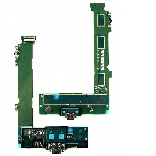 Flex Conector de Carga Micro USB, Microfono y Botones Original para Nokia Microsoft 540