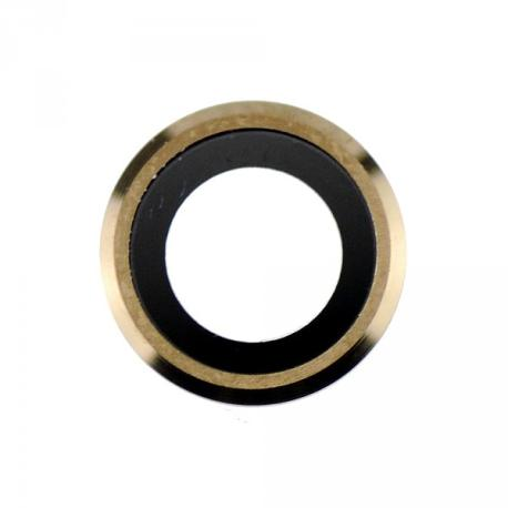 Lente de Camara para iPhone 6, 6s - Oro