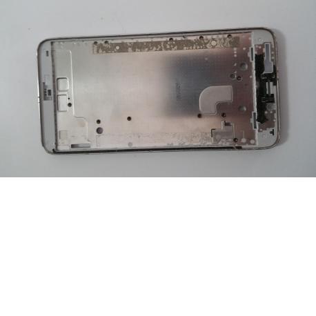 Marco Frontal para Huawei Ascend G630 Blanco - Recuperada