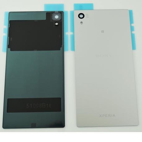 Tapa Trasera de Bateria Original para Sony Xperia Z5 - Plata
