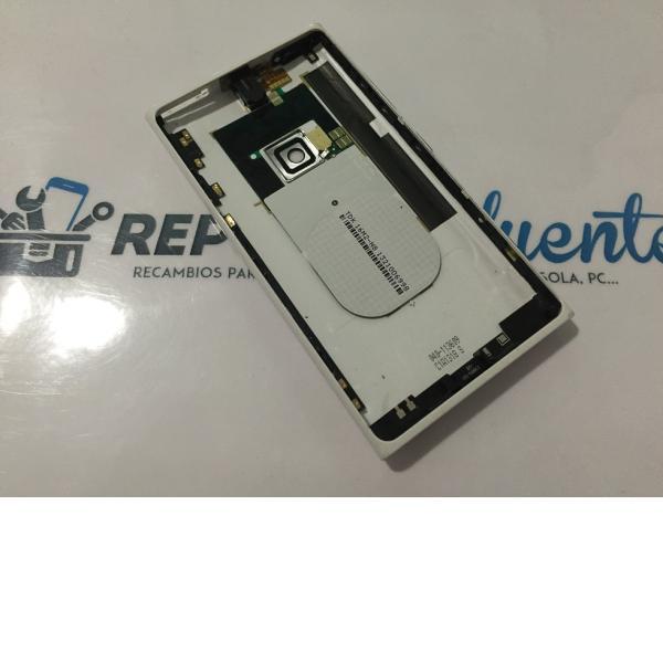Tapa Trasera Original Nokia Lumia 920 Blanca - Recuperada