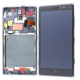 Pantalla Lcd + Tactil con Marco Original Nokia Lumia 830 Negra