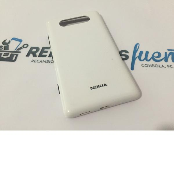 Tapa trasera Original Nokia Lumia 820 blanca - Recuperada