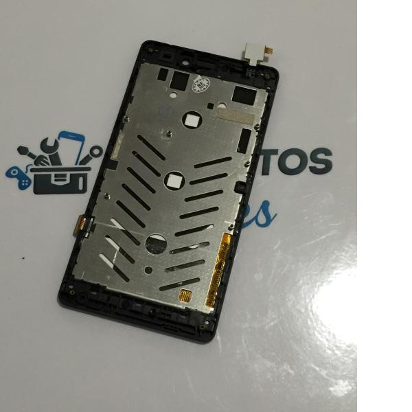 Pantalla Tactil + LCD Display con Marco para Woxter Zielo Z-420 HD - Negra