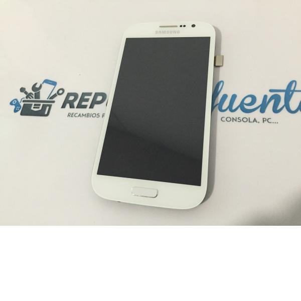 Pantalla Lcd + Tactil Original Samsung Galaxy Grand Neo Plus i9060i Blanca - Recuperada