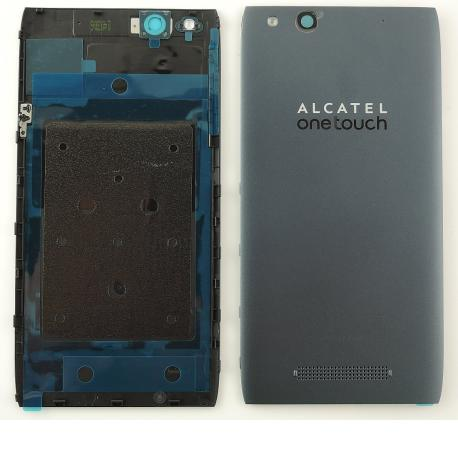 Tapa Trasera Original Alcatel ONE Touch Idol Alpha OT-6032 Gris
