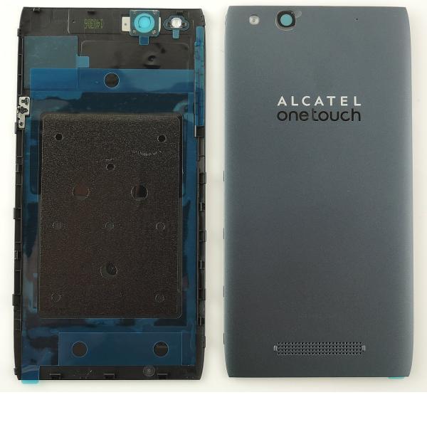 Tapa Trasera Original Alcatel ONE Touch Idol Alpha OT-6032 Gris