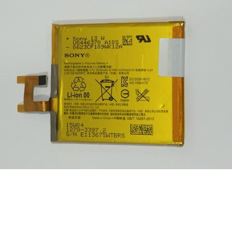 Bateria LIS1502ERPC Original para Sony Xperia Z, L36H, C6602, C6603, Xperia C, C2304, C2305, S39C, S39H de 2330mAh