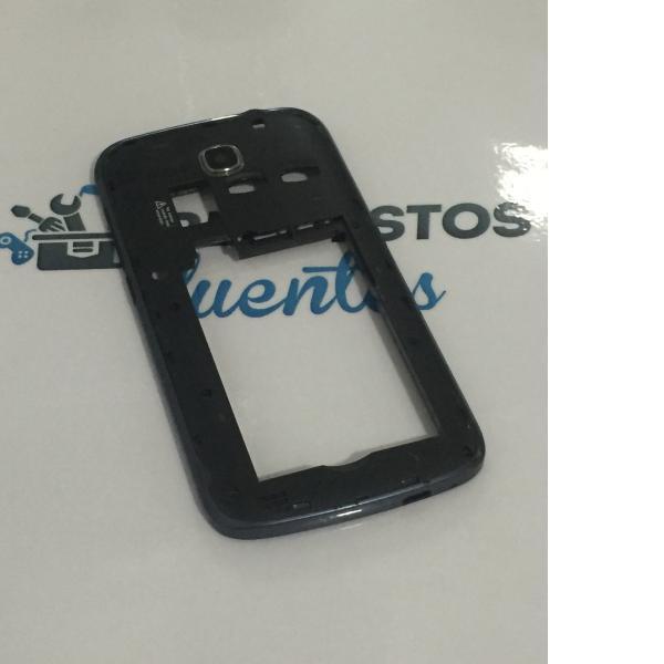 Carcasa Intermedia con Lente para Huawei Ascend Y600-U20 - Negra / Recuperado