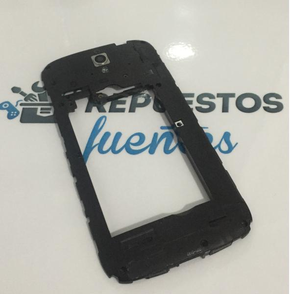 Carcasa Intermedia con Lente Original para Huawei Ascend G610-U20 - Negra / Recuperada