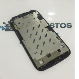 Carcasa Fronta Original para Huawei Ascend G610-U20 - Negra / Recuperada