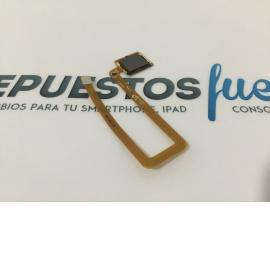 Flex de Huella Dactilar Original para Huawei Ascend Mate 7 Gris - Recuperado