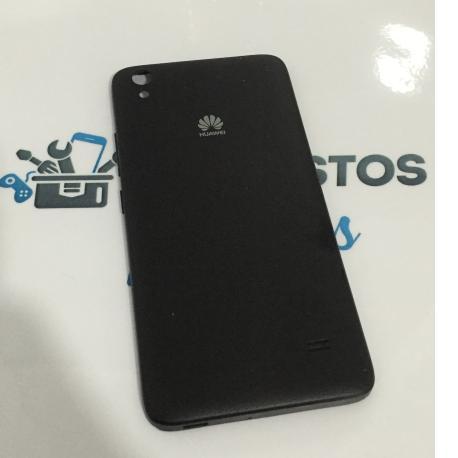 Tapa Trasera de Bateria Original para Huawei Ascend G620s - Negra / Recuperada