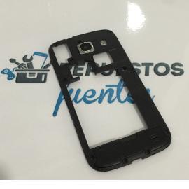 Carcasa Intermedia con Lente para Samsung Galaxy Core i8262 Negra - Recuperada