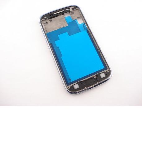 Carcasa Frontal Original para Samsung Galaxy Core i8260 i8262 - Azul / Recuperada