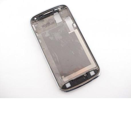 Carcasa Frontal Original para Samsung Galaxy Core i8260 i8262 - Blanca / Recuperada