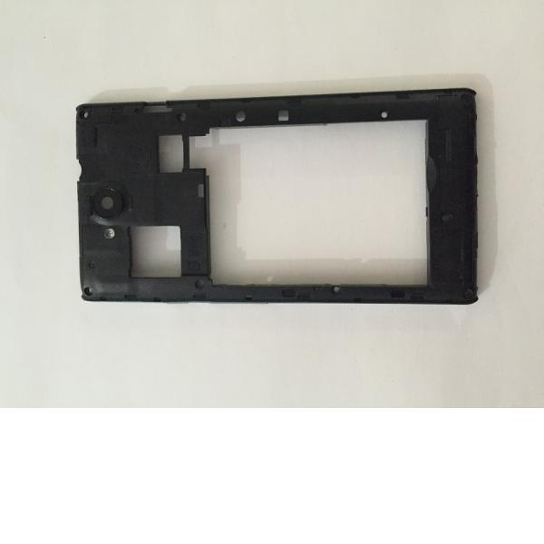 Carcasa Intermedia con lente de camara Original para ZTE Blade G LUX - Recuperada