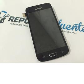 Pantalla Lcd + Tactil Con Pre-Marco Original Samsung Galaxy Core Plus G350 Negra - Recuperado