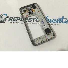 Carcasa Marco Frontal Original Samsung Galaxy S5 Mini SM-G800F